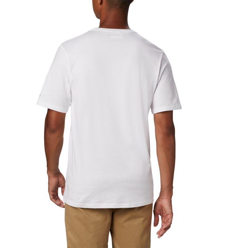 CSC Basic Logo™ Short Sleeve | 100 | XL Men's CSC Basic Logo™ Tee, White, back