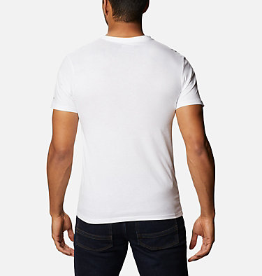 Men's CSC Basic Logo™ Tee CSC Basic Logo™ Short Sleeve | 010 | S, White, CSC Brand Retro, back