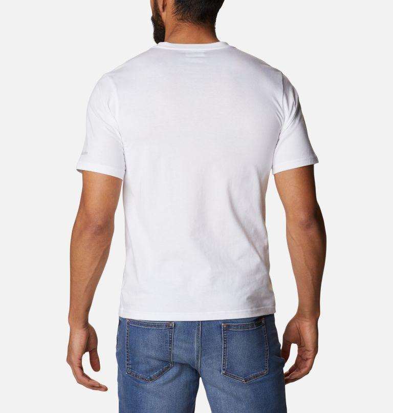 CSC Basic Logo™ Short Sleeve | 104 | XXL Men's CSC Basic Logo™ Tee, White CSC Retro, back