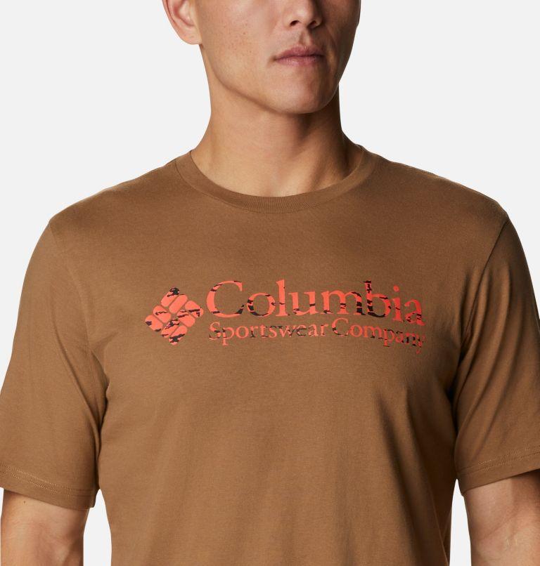 CSC Basic Logo™ Short Sleeve | 257 | S Men's CSC Basic Logo™ Tee, Delta,  CSC Brand Retro Printfill, a2