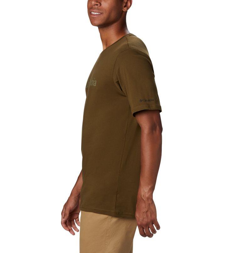 CSC Basic Logo™ Short Sleeve | 327 | L Men's CSC Basic Logo™ Tee, New Olive, a1