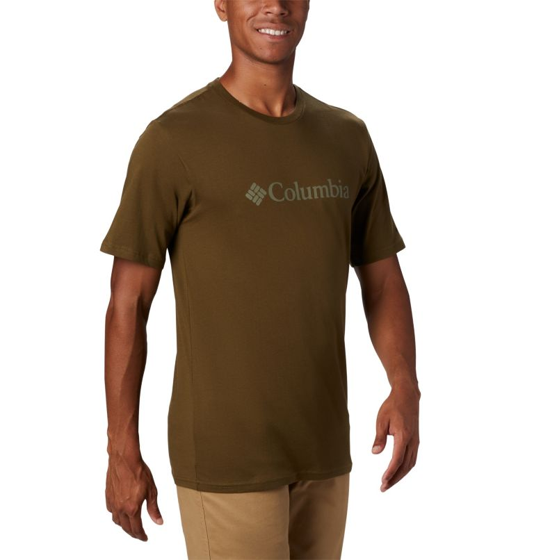CSC Basic Logo™ Short Sleeve | 327 | L Men's CSC Basic Logo™ Tee, New Olive, a2
