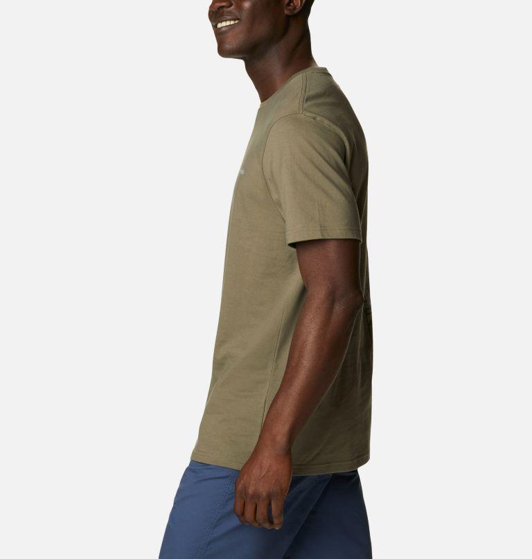 CSC Basic Logo™ Short Sleeve | 398 | S Men's CSC Basic Logo™ Tee, Stone Green Vertical, a1