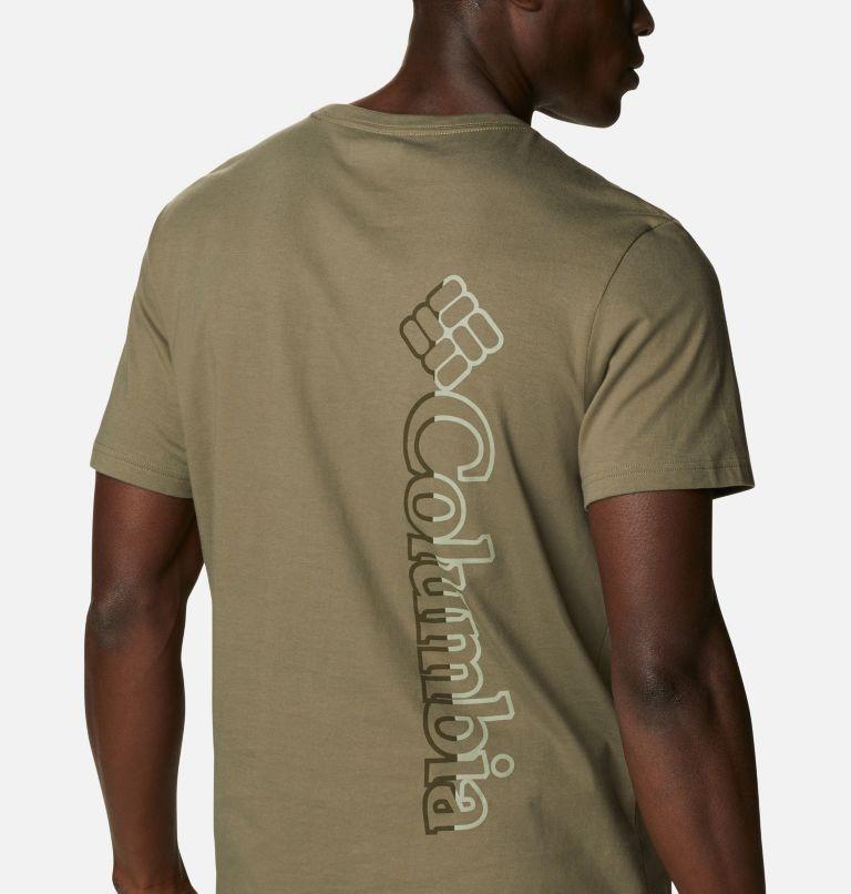 CSC Basic Logo™ Short Sleeve | 398 | S Men's CSC Basic Logo™ Tee, Stone Green Vertical, a3