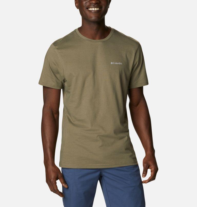 CSC Basic Logo™ Short Sleeve | 398 | S Men's CSC Basic Logo™ Tee, Stone Green Vertical, front