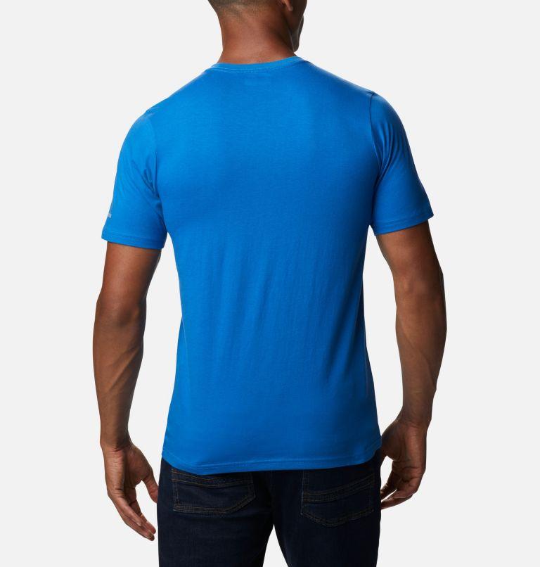 CSC Basic Logo™ Short Sleeve | 432 | XS Men's CSC Basic Logo™ Tee, Bright Indigo Logo, back