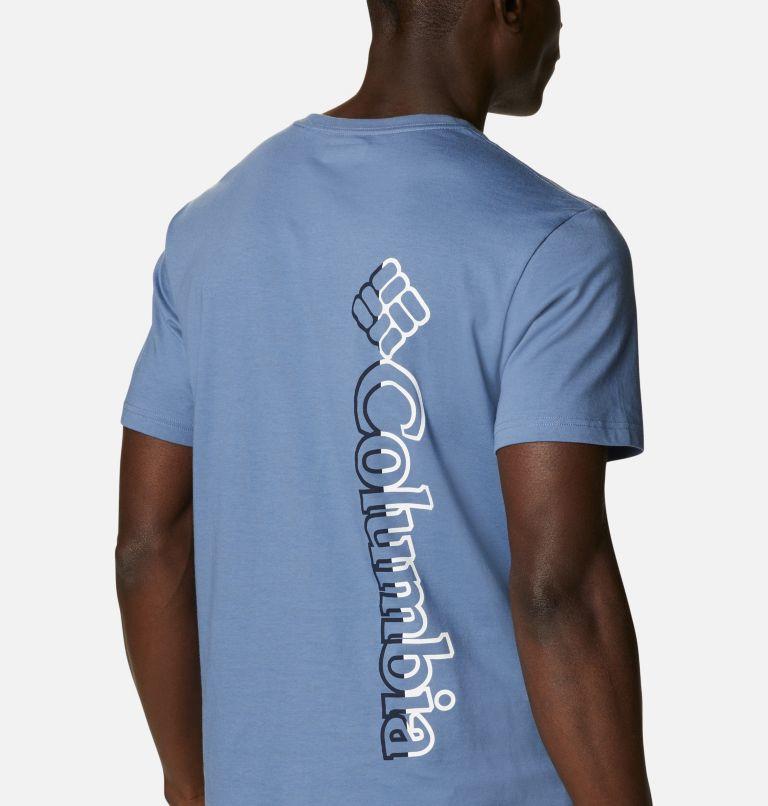 CSC Basic Logo™ Short Sleeve | 449 | XXL Men's CSC Basic Logo™ Tee, Bluestone Vertical, a3