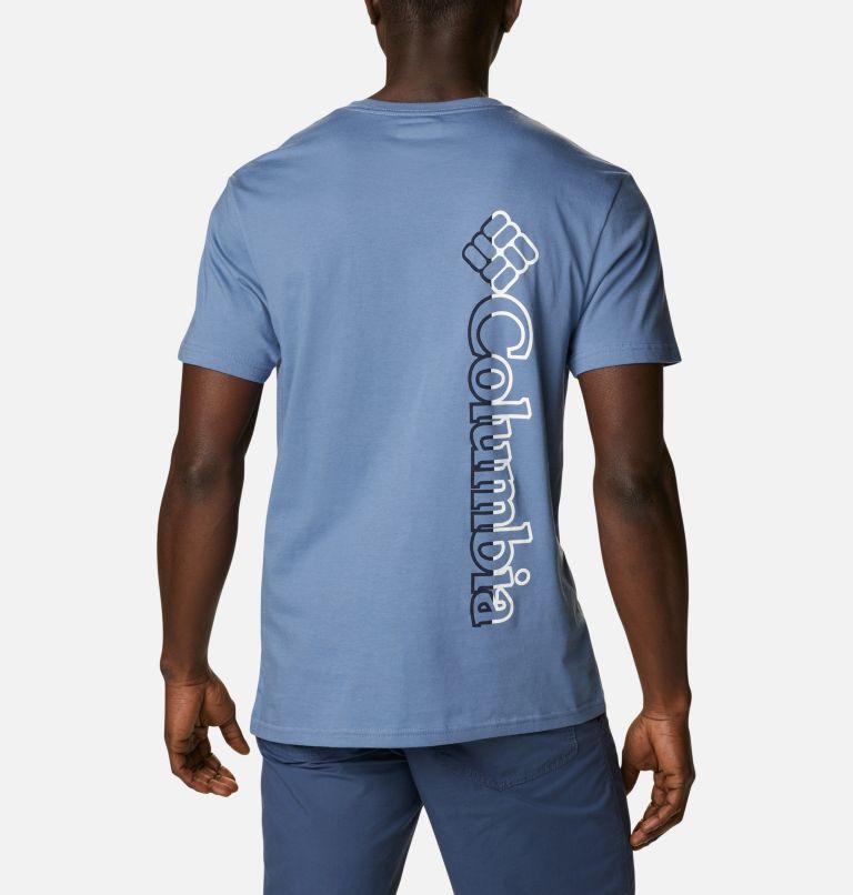 CSC Basic Logo™ Short Sleeve | 449 | XXL Men's CSC Basic Logo™ Tee, Bluestone Vertical, back