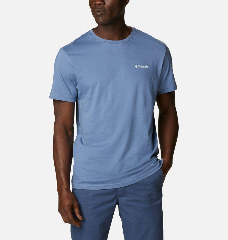 CSC Basic Logo™ Short Sleeve | 449 | XXL Men's CSC Basic Logo™ Tee, Bluestone Vertical, front