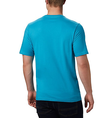 Maglia CSC Basic Logo™ da uomo CSC Basic Logo™ Short Sleeve | 015 | S, Clear Water Icon, back