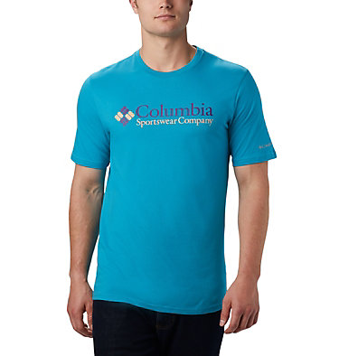 Men's CSC Basic Logo™ Tee CSC Basic Logo™ Short Sleeve | 010 | S, Clear Water Icon, front
