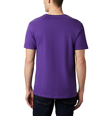 Maglia CSC Basic Logo™ da uomo CSC Basic Logo™ Short Sleeve | 015 | S, Vivid Purple Icon, back