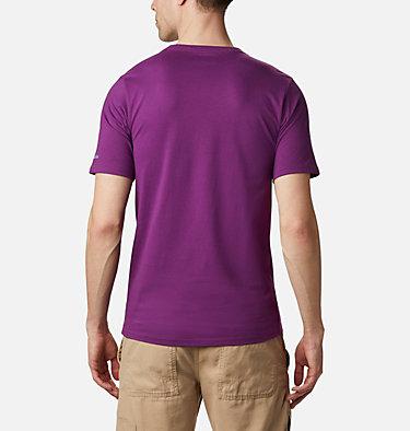 Men's CSC Basic Logo™ Tee CSC Basic Logo™ Short Sleeve | 015 | S, Plum CSC Brand Retro, back