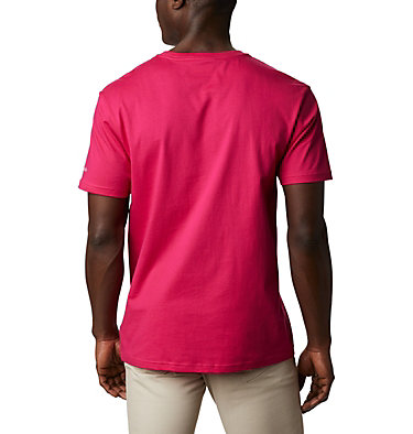 Men's CSC Basic Logo™ Tee CSC Basic Logo™ Short Sleeve | 010 | S, Cactus Pink Icon, back