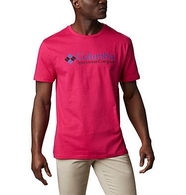 Men's CSC Basic Logo™ Tee CSC Basic Logo™ Short Sleeve | 015 | S, Cactus Pink Icon, front