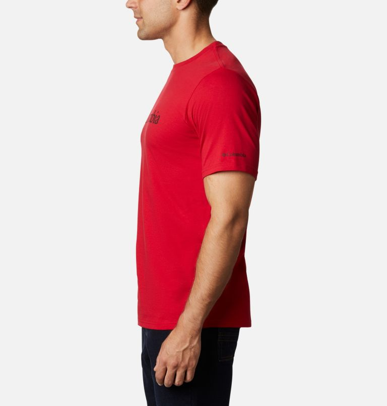 CSC Basic Logo™ Short Sleeve | 615 | L Men's CSC Basic Logo™ Tee, Mountain Red, a1