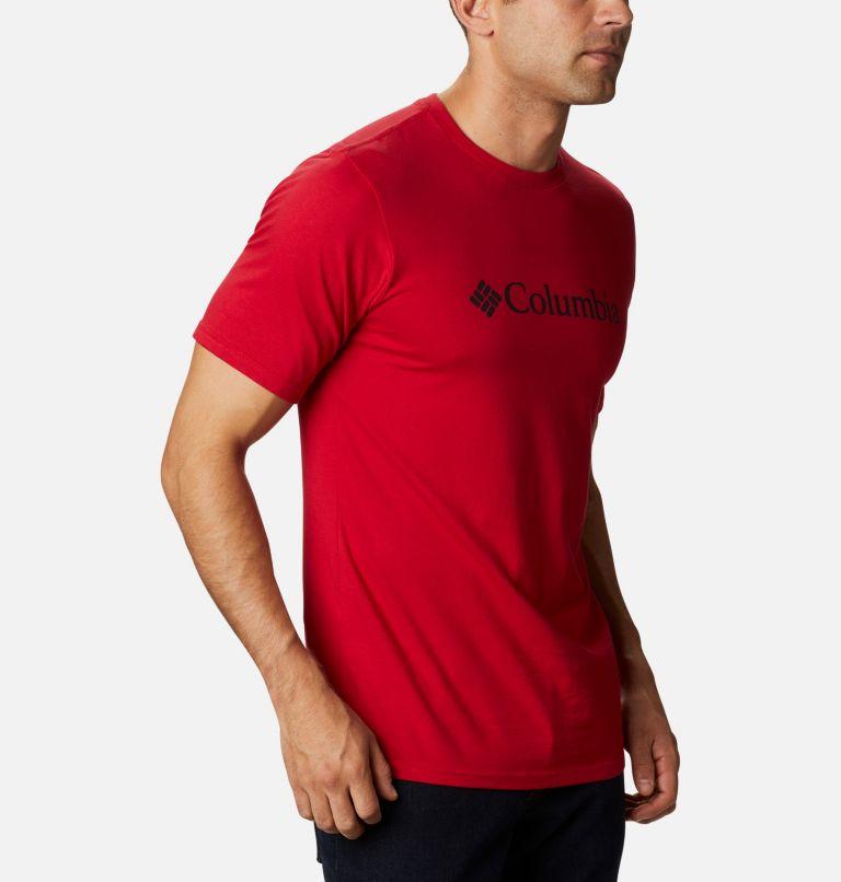 CSC Basic Logo™ Short Sleeve | 615 | L Men's CSC Basic Logo™ Tee, Mountain Red, a3