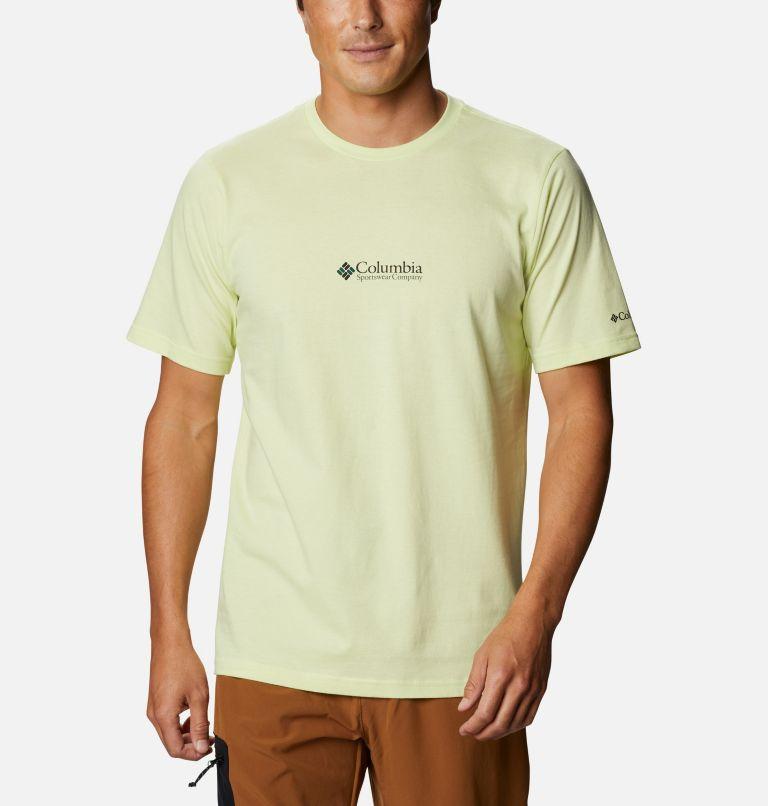 CSC Basic Logo™ Short Sleeve | 783 | L Men's CSC Basic Logo™ Tee, Spring Yellow CSC Retro, front