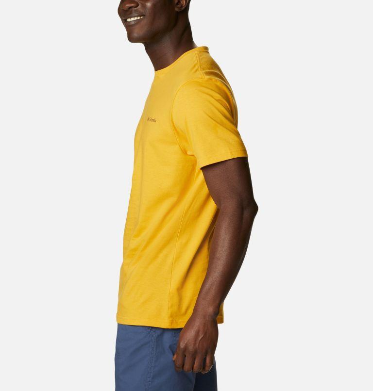 CSC Basic Logo™ Short Sleeve | 790 | XL Men's CSC Basic Logo™ Tee, Bright Gold Vertical, a1