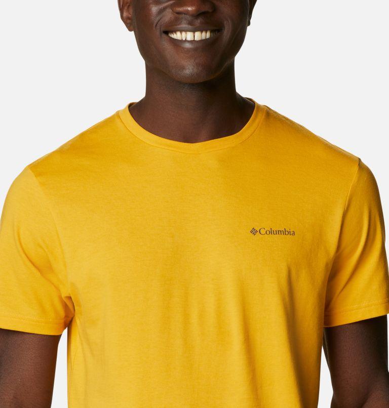 CSC Basic Logo™ Short Sleeve | 790 | XL Men's CSC Basic Logo™ Tee, Bright Gold Vertical, a2