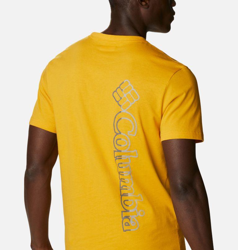 CSC Basic Logo™ Short Sleeve | 790 | XL Men's CSC Basic Logo™ Tee, Bright Gold Vertical, a3