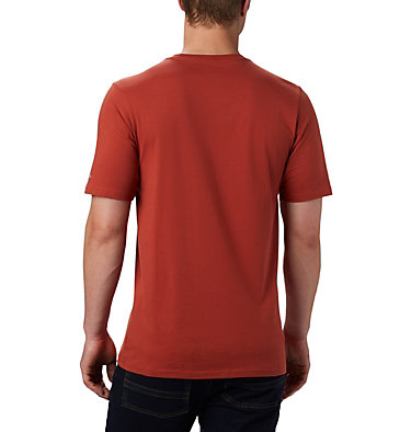 Maglia CSC Basic Logo™ da uomo CSC Basic Logo™ Short Sleeve | 015 | S, Carnelian Red, back