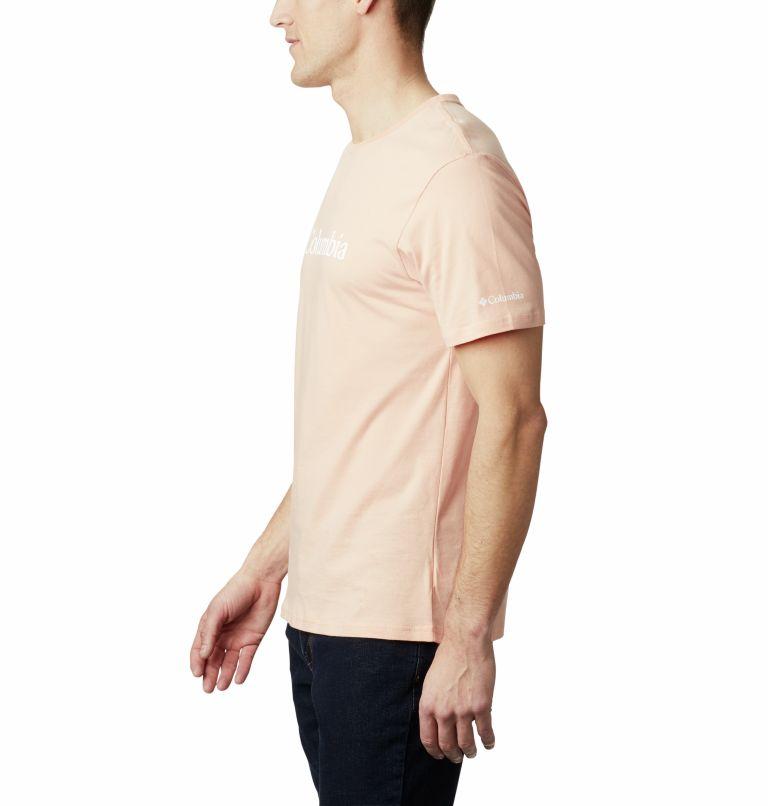 CSC Basic Logo™ Short Sleeve   848   S Men's CSC Basic Logo™ Tee, Light Coral, a1