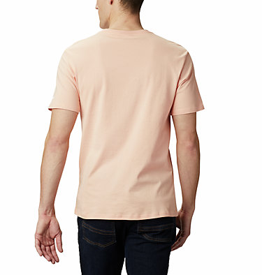 Maglia CSC Basic Logo™ da uomo CSC Basic Logo™ Short Sleeve | 015 | S, Light Coral, back