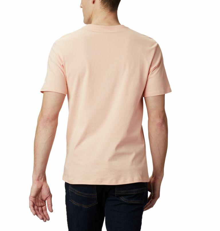 CSC Basic Logo™ Short Sleeve   848   S Men's CSC Basic Logo™ Tee, Light Coral, back