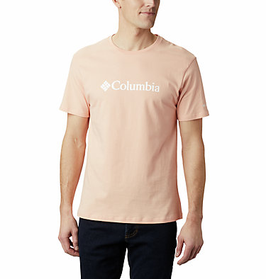 Maglia CSC Basic Logo™ da uomo CSC Basic Logo™ Short Sleeve | 015 | S, Light Coral, front