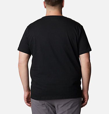 T-shirt CSC Basic Logo™ homme –Grande Taille CSC Basic Logo™ Short Sleeve | 010 | 4X, Black, back