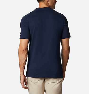 Men's CSC Basic Logo™ Short Sleeve Shirt - Big CSC Basic Logo™ Short Sleeve | 467 | 5X, Collegiate Navy, White, back