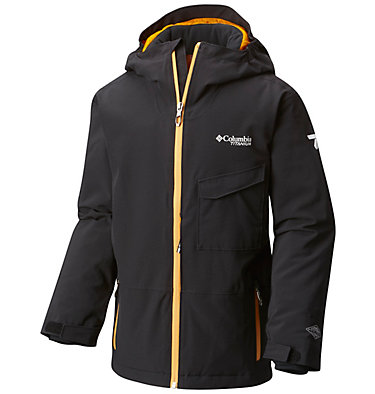 Boy's EmPOWder™ Insulated Hooded Jacket , front