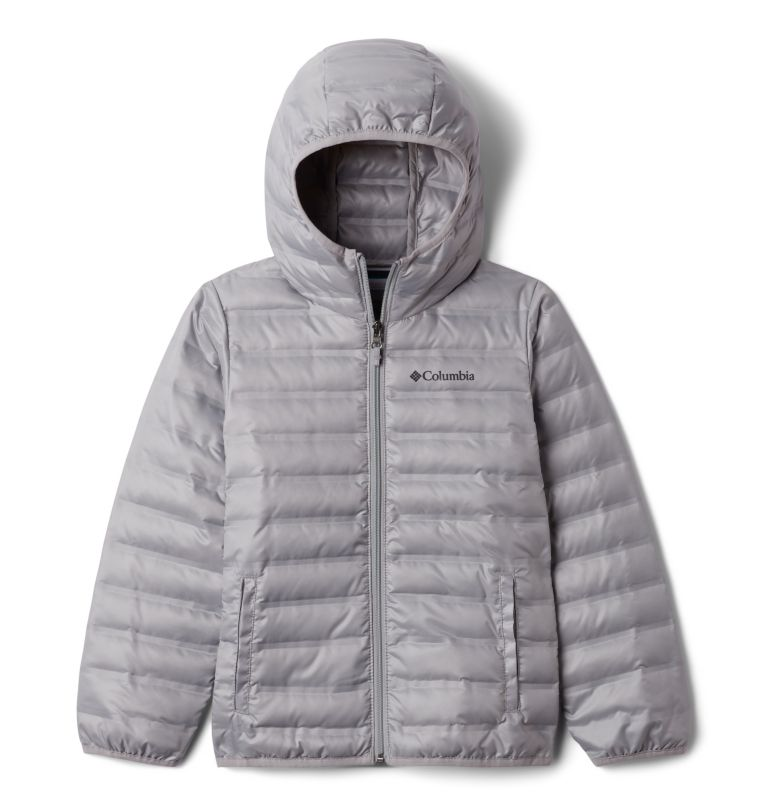 Kids' Flash Forward Hooded Down Jacket Kids' Flash Forward Hooded Down Jacket, front