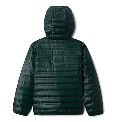 Kids' Flash Forward Hooded Down Jacket Flash Forward™ Hooded Down Jacket | 554 | L, Spruce, back