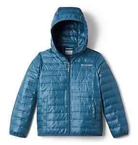Manteau en duvet à capuchon Flash Forward™ pour enfant