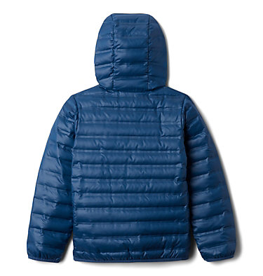 Kids' Flash Forward Hooded Down Jacket Flash Forward™ Hooded Down Jacket | 554 | L, Night Tide, back