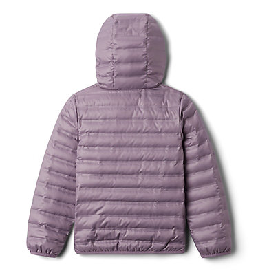 Kids' Flash Forward Hooded Down Jacket Flash Forward™ Hooded Down Jacket | 554 | L, Shale Purple, back
