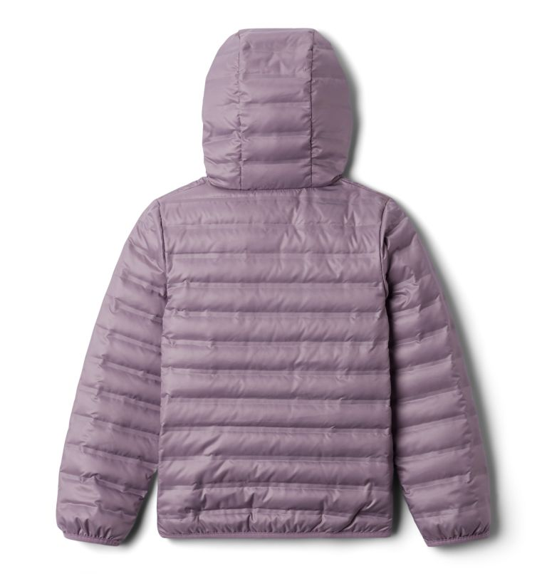 Flash Forward™ Hooded Down Jacket | 554 | XXS Manteau en duvet à capuchon Flash Forward™ pour enfant, Shale Purple, back
