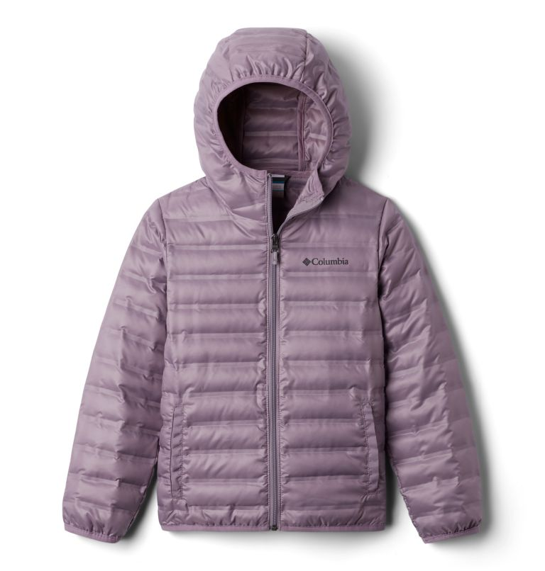 Flash Forward™ Hooded Down Jacket | 554 | XXS Manteau en duvet à capuchon Flash Forward™ pour enfant, Shale Purple, front