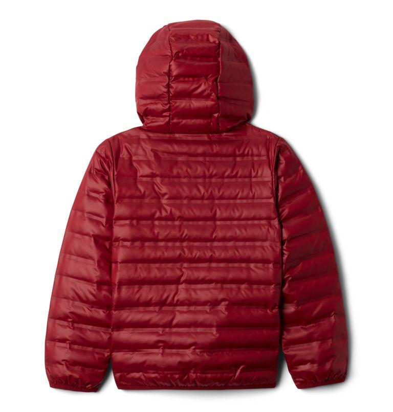 Flash Forward™ Hooded Down Jacket | 664 | XS Manteau en duvet à capuchon Flash Forward™ pour enfant, Red Jasper, back