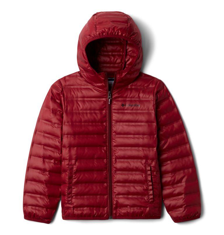 Flash Forward™ Hooded Down Jacket | 664 | XS Manteau en duvet à capuchon Flash Forward™ pour enfant, Red Jasper, front