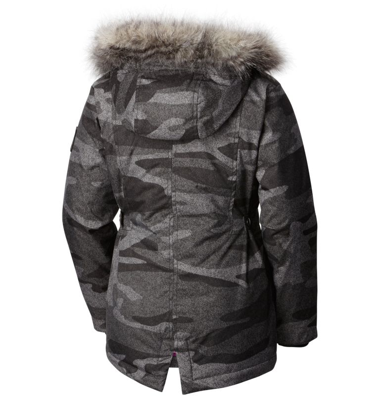 Girls' Barlow Pass™ 600 TurboDown Jacket Girls' Barlow Pass™ 600 TurboDown Jacket, back