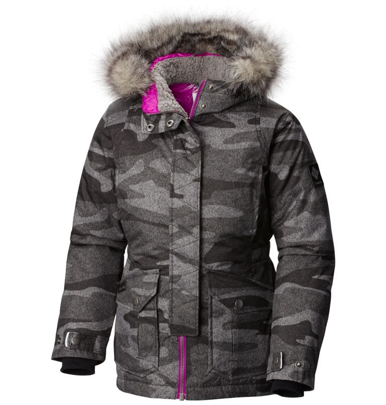 Girls' Barlow Pass™ 600 TurboDown Jacket Girls' Barlow Pass™ 600 TurboDown Jacket, front