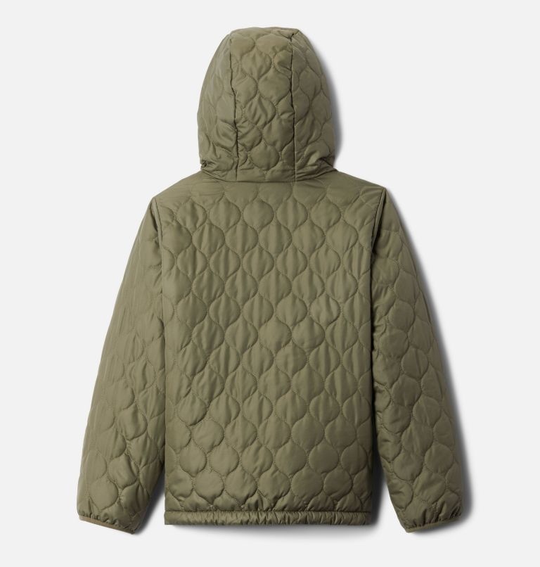 Bella Plush™ Jacket | 397 | XL Girls' Bella Plush™ Jacket, Stone Green, back
