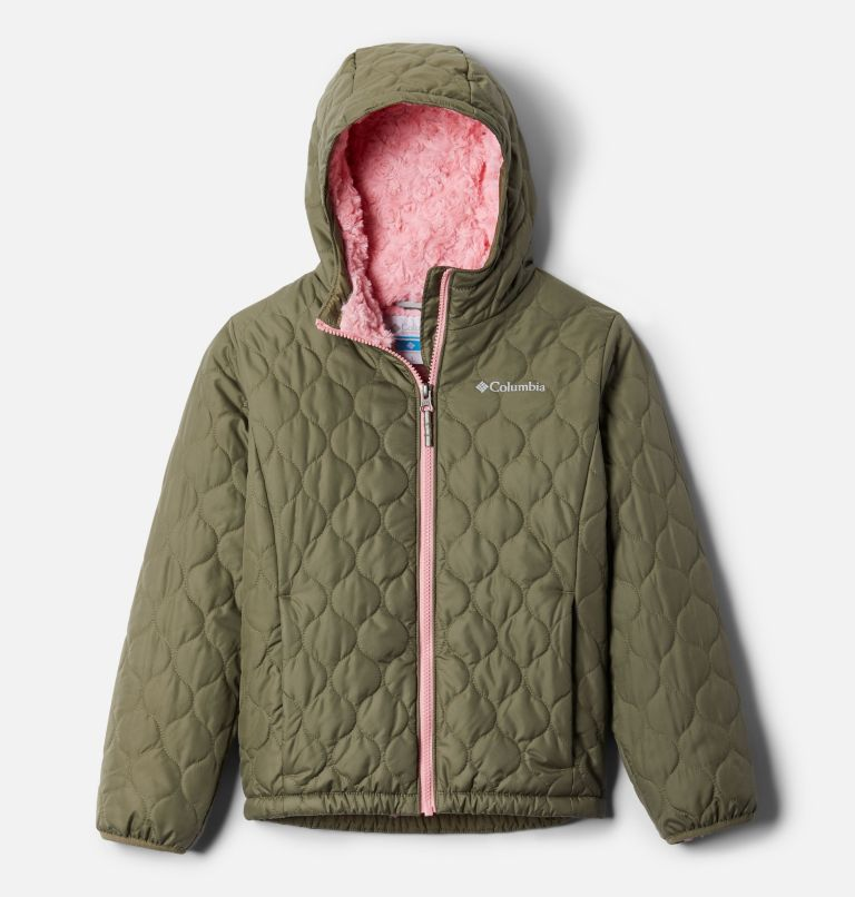 Bella Plush™ Jacket | 397 | L Girls' Bella Plush™ Jacket, Stone Green, front