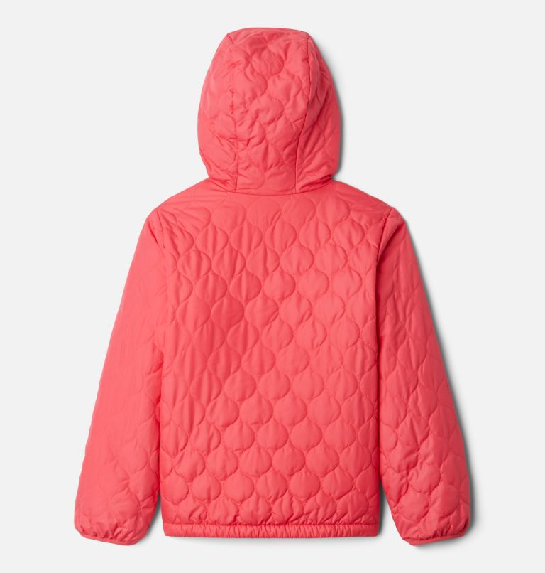 Bella Plush™ Jacket | 673 | XXS Girls' Bella Plush™ Jacket, Bright Geranium, back