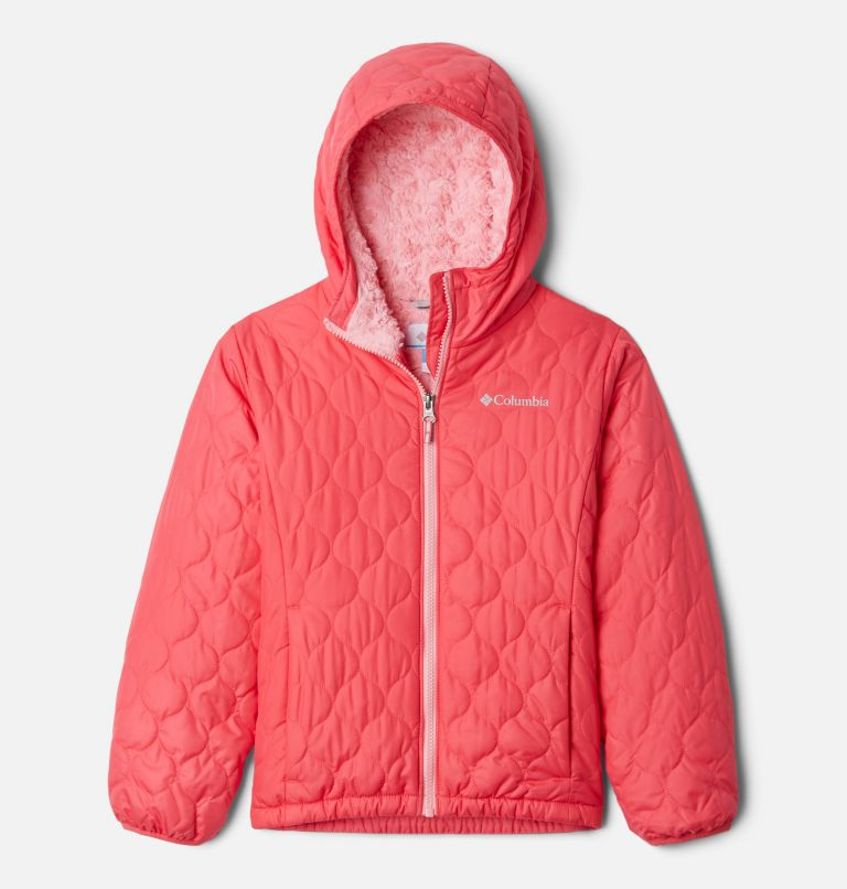 Bella Plush™ Jacket | 673 | XXS Girls' Bella Plush™ Jacket, Bright Geranium, front