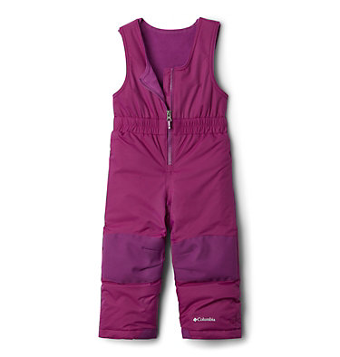 Toddler Buga™ Bib Snow Pants Buga™ Bib | 575 | 4T, Plum, front