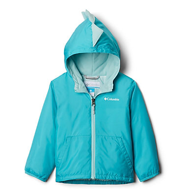 Toddler Kitterwibbit™ Hooded Fleece Lined Jacket Kitterwibbit™ Jacket | 439 | 2T, Geyser, Spray, back
